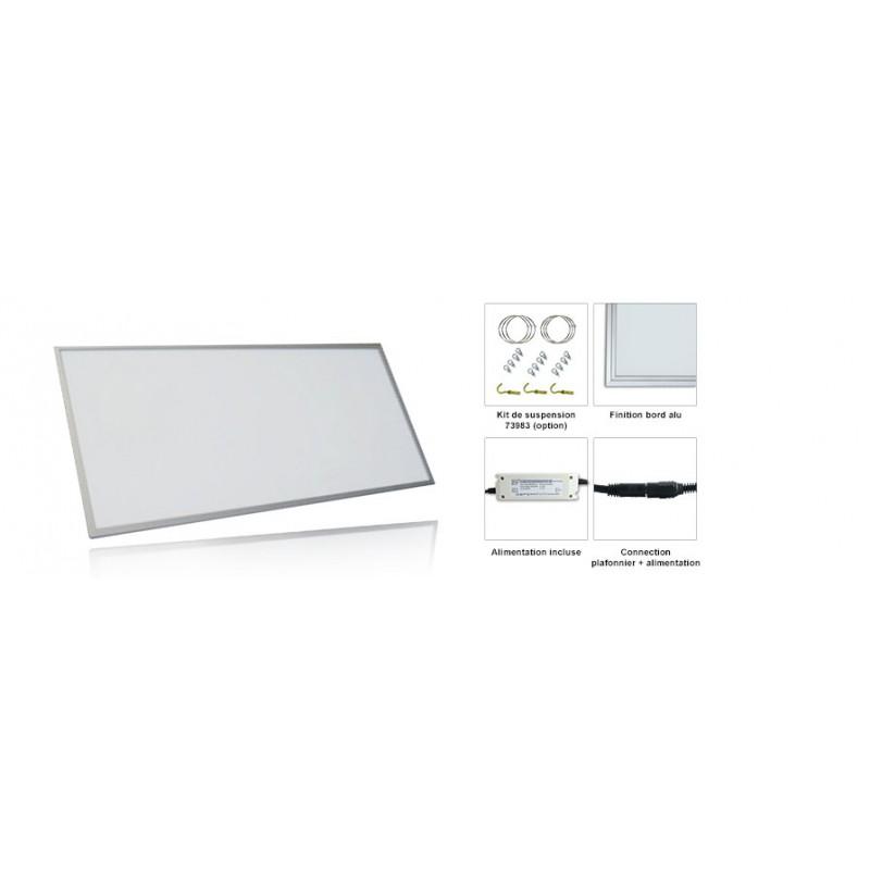 plafonnier dalle led 600x1200 60w. Black Bedroom Furniture Sets. Home Design Ideas