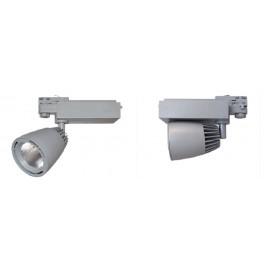 Spot rail LED 40W gris