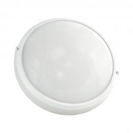 Plafonnier LED blanc 30cm détecteur HF