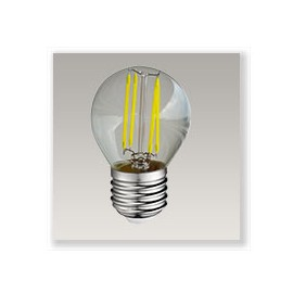 Spherique filament LED 4W E27 Dimmable