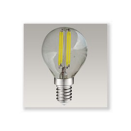 Spherique filament LED 4W E14 Dimmable