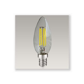 Flamme filament LED 4W E14 Dimmable