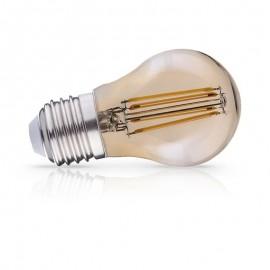 Standard filament LED Ambre 6W E27