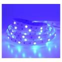 Ruban LED bleu 12V 7.2W/m