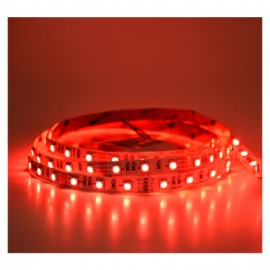 Ruban LED rouge 12V 14.4W/m