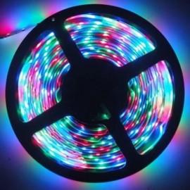 Ruban LED RVB 24V 14,4W/m IP67 étanche