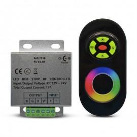 Contrôleur LED 12/24V DC - RVB + Télécommande RF