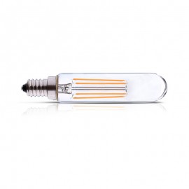 Tube LED clair 4W E14