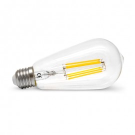 Edison filament LED 8W E27 Dimmable