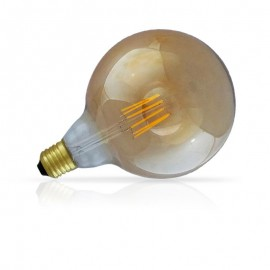 Globe 125 filament LED Ambre 8W E27 dimmable