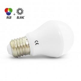 BULB LED 60mm RGB 7W E27