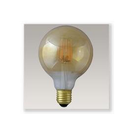 Globe 95 filament LED Ambre 8W E27