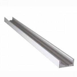 Profilé droit aluminium anodisé SRA124/2